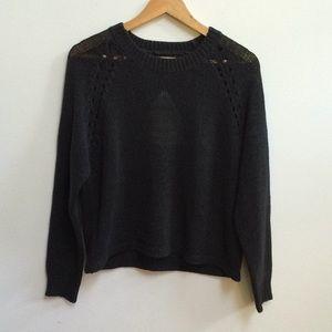 Nasty Gal Uniq Knit cutout sweater